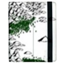 Montains Hills Green Forests Apple iPad 3/4 Flip Case View2