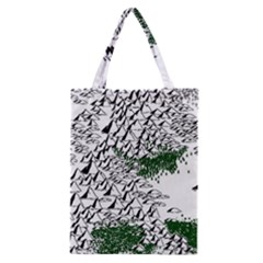 Montains Hills Green Forests Classic Tote Bag