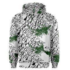 Montains Hills Green Forests Men s Pullover Hoodie