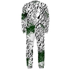 Montains Hills Green Forests Onepiece Jumpsuit (men)  by Alisyart