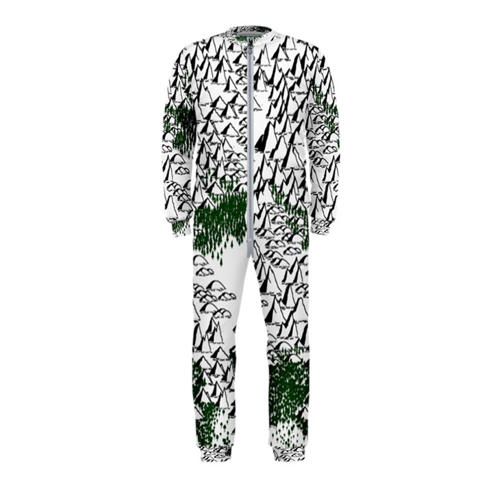 Montains Hills Green Forests OnePiece Jumpsuit (Kids)