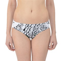 Montains Hills Green Forests Hipster Bikini Bottoms