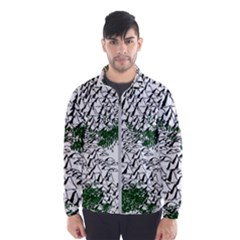Montains Hills Green Forests Windbreaker (men)