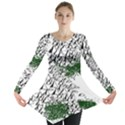 Montains Hills Green Forests Long Sleeve Tunic  View1