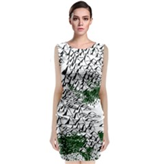 Montains Hills Green Forests Classic Sleeveless Midi Dress