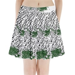 Montains Hills Green Forests Pleated Mini Skirt by Alisyart