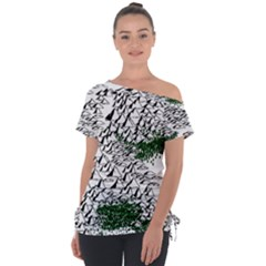 Montains Hills Green Forests Tie Up Tee