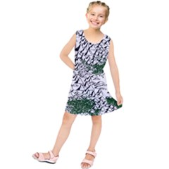 Montains Hills Green Forests Kids  Tunic Dress