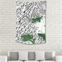 Montains Hills Green Forests Small Tapestry View2