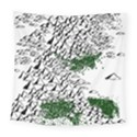 Montains Hills Green Forests Square Tapestry (Large) View1