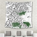 Montains Hills Green Forests Square Tapestry (Large) View2