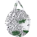 Montains Hills Green Forests Giant Round Zipper Tote View1