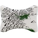 Montains Hills Green Forests Seat Head Rest Cushion View1