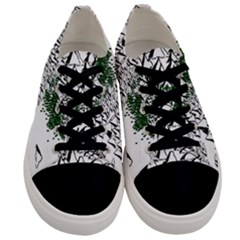 Montains Hills Green Forests Men s Low Top Canvas Sneakers