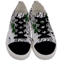 Montains Hills Green Forests Men s Low Top Canvas Sneakers View1