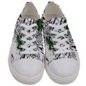 Montains Hills Green Forests Women s Low Top Canvas Sneakers View1