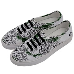 Montains Hills Green Forests Men s Classic Low Top Sneakers by Alisyart