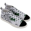 Montains Hills Green Forests Men s Mid-Top Canvas Sneakers View3