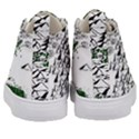 Montains Hills Green Forests Kid s Mid-Top Canvas Sneakers View4