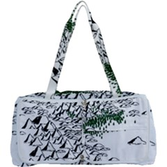 Montains Hills Green Forests Multi Function Bag