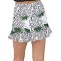 Montains Hills Green Forests Fishtail Mini Chiffon Skirt View2