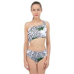 Montains Hills Green Forests Spliced Up Two Piece Swimsuit