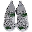 Montains Hills Green Forests Velcro Strap Shoes View1