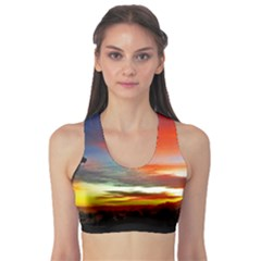 Sunset Mountain Indonesia Adventure Sports Bra