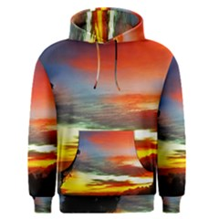 Sunset Mountain Indonesia Adventure Men s Pullover Hoodie