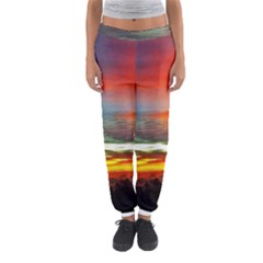 Sunset Mountain Indonesia Adventure Women s Jogger Sweatpants