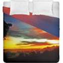 Sunset Mountain Indonesia Adventure Duvet Cover Double Side (King Size) View1