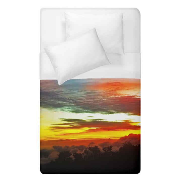 Sunset Mountain Indonesia Adventure Duvet Cover (Single Size)