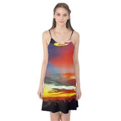 Sunset Mountain Indonesia Adventure Camis Nightgown