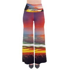 Sunset Mountain Indonesia Adventure So Vintage Palazzo Pants