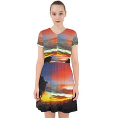 Sunset Mountain Indonesia Adventure Adorable in Chiffon Dress