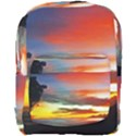 Sunset Mountain Indonesia Adventure Full Print Backpack View1