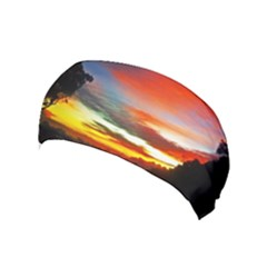 Sunset Mountain Indonesia Adventure Yoga Headband