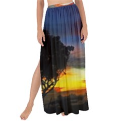 Sunset Mountain Indonesia Adventure Maxi Chiffon Tie Up Sarong