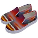 Sunset Mountain Indonesia Adventure Kids  Canvas Slip Ons View2