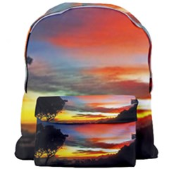 Sunset Mountain Indonesia Adventure Giant Full Print Backpack