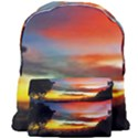 Sunset Mountain Indonesia Adventure Giant Full Print Backpack View1