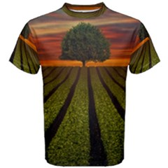 Natural Tree Men s Cotton Tee