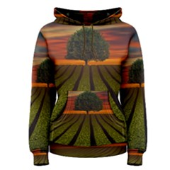 Natural Tree Women s Pullover Hoodie