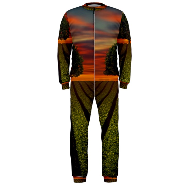 Natural Tree OnePiece Jumpsuit (Men)