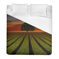 Natural Tree Duvet Cover (full/ Double Size)