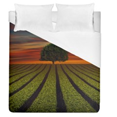 Natural Tree Duvet Cover (queen Size)