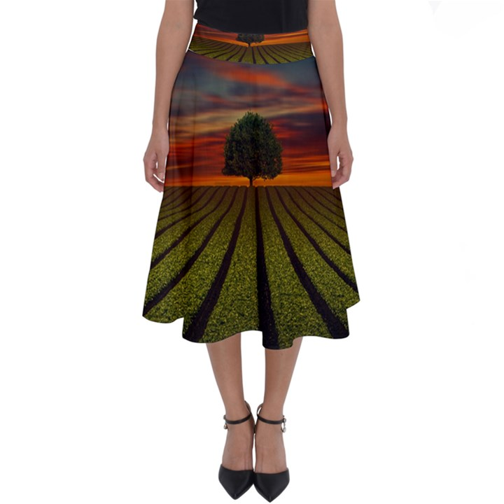 Natural Tree Perfect Length Midi Skirt