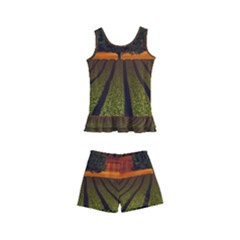 Natural Tree Kid s Boyleg Swimsuit