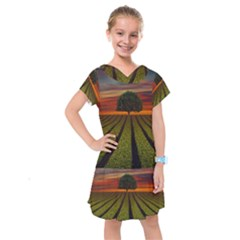 Natural Tree Kids  Drop Waist Dress