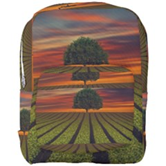 Natural Tree Full Print Backpack by Alisyart